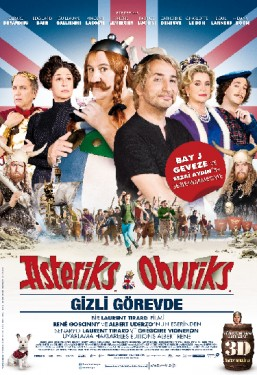 Asteriks ve Oburiks Gizli Görevde –  Asterix et Obelix: On Her Majesty's Secret Service
